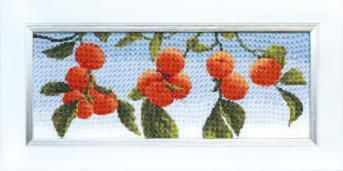 Фото - Набор для вышивания Чарiвна Мить ВТ-103 Спелые клементины набор для вышивания чарiвна мить вт 093 солнечные одуванчики