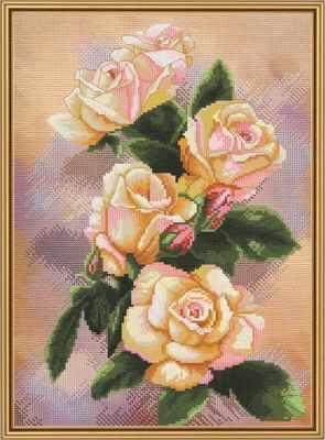 Набор для вышивания Nova Sloboda СР 4207 Чайная роза чайная пара narumi silk