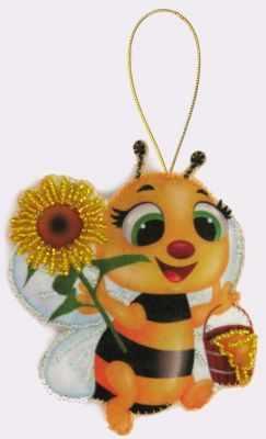 Набор для изготовления изделий из фетра Butterfly F031 Пчелка -