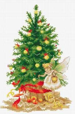 B1117 Рождественская ёлка