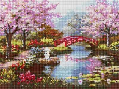 Купить со скидкой 910501 Вишни в цвету - мозаика Anya