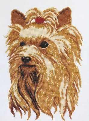 957  Йоркширский терьер  - Наборы для вышивания крестиком «HobbyPro»