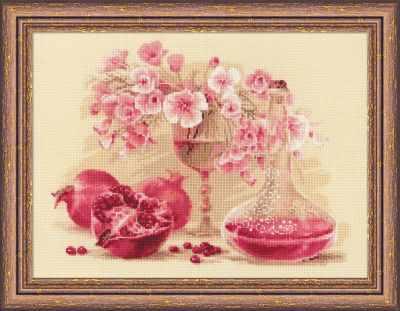 1618 Розовый гранат