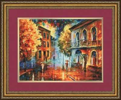 Фото - Набор для вышивания Золотое Руно ГМ-031 Осенний вечер набор для вышивания золотое руно гм 037 булгаковская осень