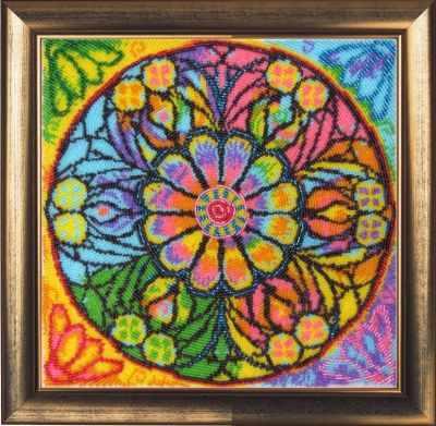 Набор для вышивания Butterfly 122 Мандала счастья