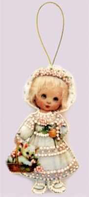 Набор для изготовления изделий из фетра Butterfly F048 Кукла. Италия - Butterfly