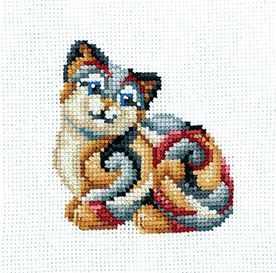 Набор для вышивания Сделай своими руками С-33 Статуэтки.Кошка