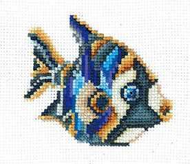 Набор для вышивания Сделай своими руками С-34 Статуэтки.Рыбка
