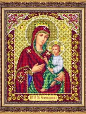 Набор для вышивания иконы Паутинка Б1068 Пр.Богородица Скоропослушница (Паутинка)