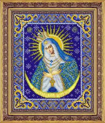 Набор для вышивания иконы Паутинка Б1090 Пр.Богородица Остробрамская (Паутинка)