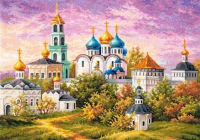 Набор для вышивания Чудесная игла 75-06 Троице-Сергиева Лавра