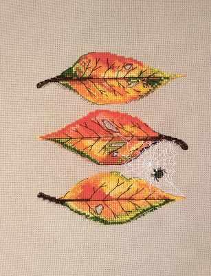 Фото - Набор для вышивания Марья искусница 16.001.03 Осенние листья набор для вышивания марья искусница 16 001 04 дубовые листья