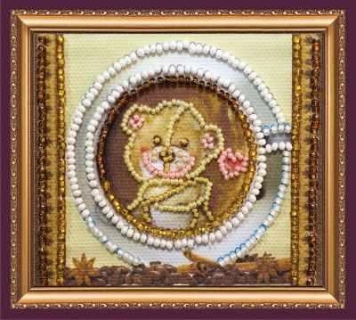 Набор для вышивания Абрис Арт АМА-164 Мишкина улыбка