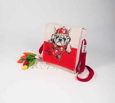 8528 Викинг - набор для шитья и вышивания текстильная сумка-планшет