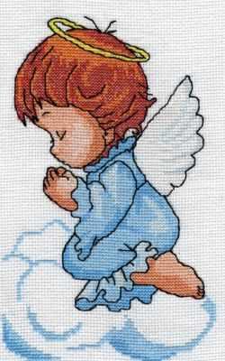 0131 Ангелочек (Nitex) - Наборы для вышивания «NITEX»