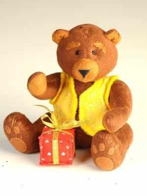 Купить со скидкой ППЛ-1401 Мишка Топтыгин - игрушка (Перловка)