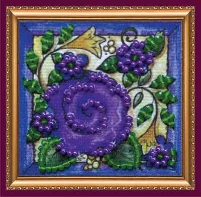 Набор для вышивания Абрис Арт АММ-042 Цветочный ковер