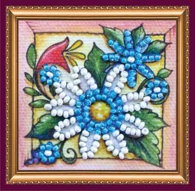 Набор для вышивания Абрис Арт АММ-043 Гадание на ромашке