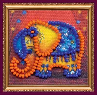 Набор для вышивания Абрис Арт АММ-049 Оранжевый слоник