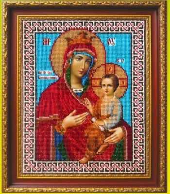 Набор для вышивания иконы Золотой Восход И-1012 Божья Матерь Скоропослушница (Золотой Восход)