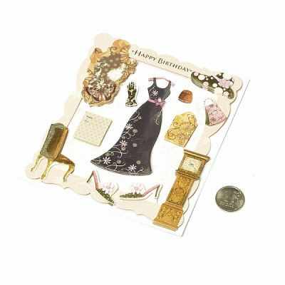 Декоративные элементы и украшения для скрапбукинга Magic 4 Hobby MG.3D.02 Наклейки объемные Magic 4 Hobby
