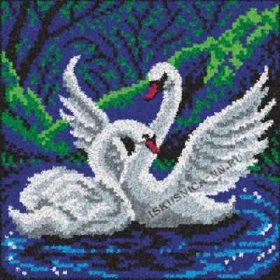 Набор для вышивания Искусница ПП-009 Лебеди