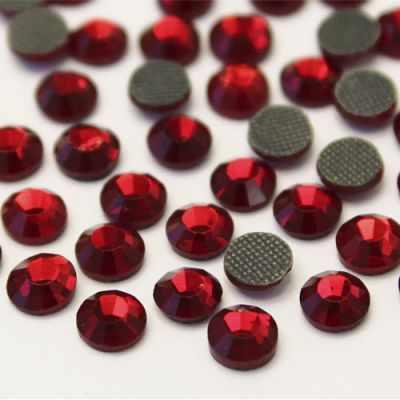 Стразы термоклеевые, 4,8 мм, ss20, 144 шт/уп, Cristal (208)
