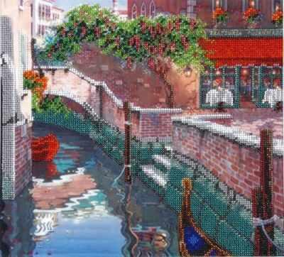 БН-3068  Венеция  - Наборы для вышивания крестиком «HobbyPro»