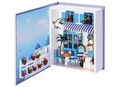 Купить со скидкой 002-B Кафе в Санторини - набор для создания миниатюры