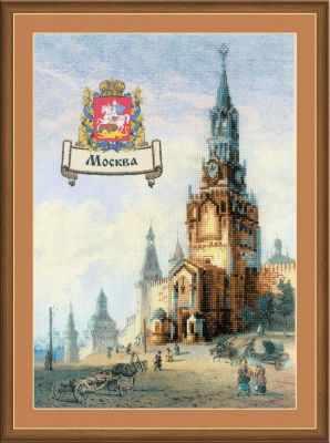 РТ0064  Города России. Москва  - Наборы для вышивания «Риолис»