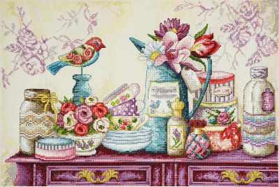 Набор для вышивания Марья искусница 11.004.11 Шебби шик