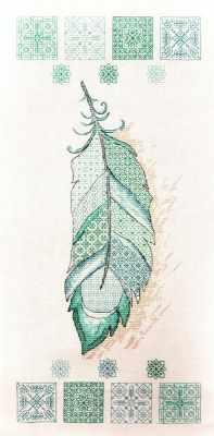 Набор для вышивания Марья искусница 14.003.02 Перышко набор для вышивания марья искусница 15 001 15 рыбалка