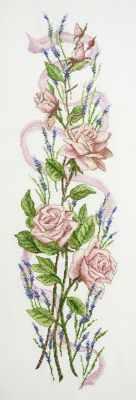 Купить со скидкой 14.002.04 Розы и лаванда (МИ)