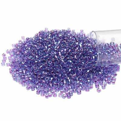 №0776 фиолетовый/радужный 11/0 TREASURE №1 1.6 мм