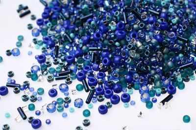 Бисер TOHO №3224 яр.сине-зеленый MIX 1