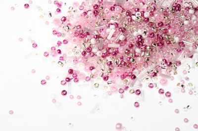 Бисер TOHO №3214 розово-малиновый MIX 2