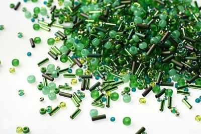 Бисер TOHO №3221 зеленый MIX 3