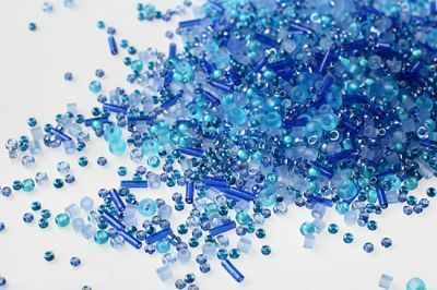 Бисер TOHO №3230 фиолетово-голубой MIX 3