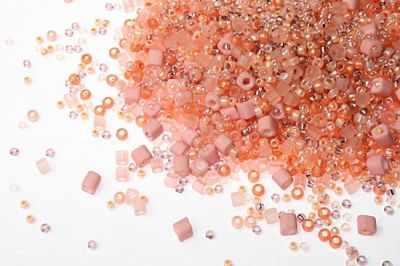 Бисер TOHO №3202 персиковый MIX 5