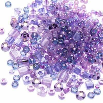 Бисер TOHO №3207 фиолетовый MIX 5