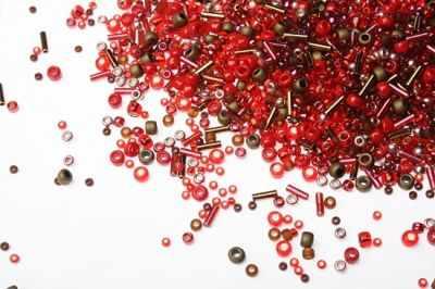 Бисер TOHO (Япония) №3218 красно-бронзовый MIX 5