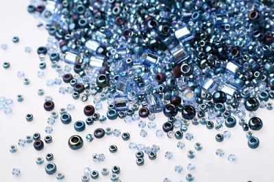 Бисер TOHO №3204 фиолетово-синий MIX 6