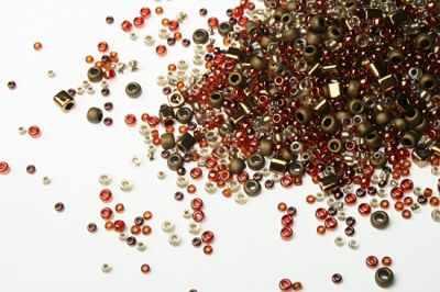 Бисер TOHO №3205 бронзово-золотистый MIX 7