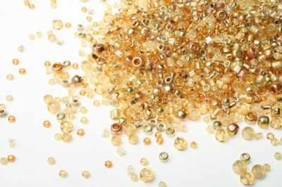 Бисер TOHO №3206 золотой MIX 7