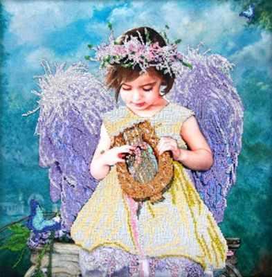 62012 Ангельские мелодии - Наборы для вышивания «Astrea-Freya-Gluriya»