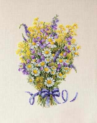 К-72 Летние цветы (Мережка) - Наборы для вышивания «Мережка»