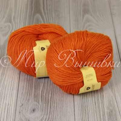Пряжа Пехорка Пряжа Пехорка Детский каприз Цвет.284 Оранжевый