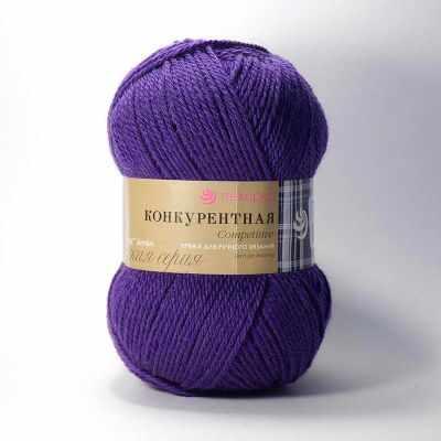 Пряжа Пехорка Пряжа Пехорка Конкурентная Цвет.78 Фиолетовый