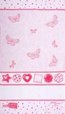 Купить со скидкой CU4597 Махровое полотенце (40*70, розовый)