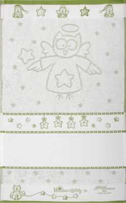 CU4738 Махровое полотенце  (40*70, зеленый)